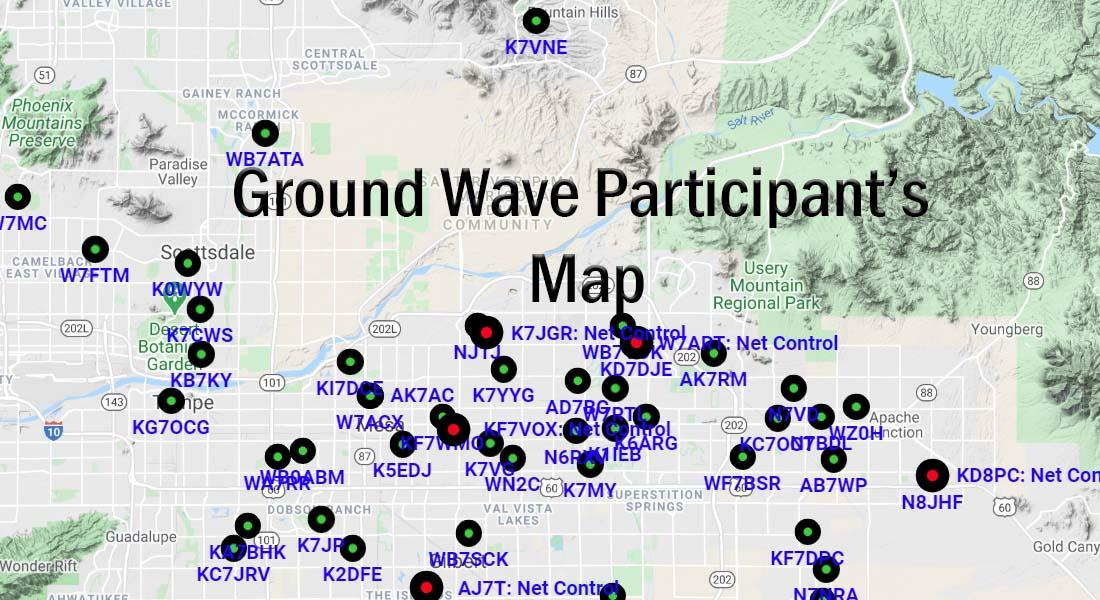 ground wave participants map
